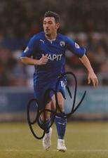 CHESTERFIELD: GARY ROBERTS SIGNED 6x4 ACTION PHOTO+COA