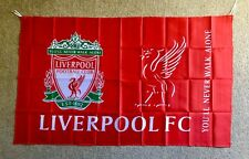 LIVERPOOL FC Flag Big Banner Large Size: 90cm X 150cm Brand New Stock Now