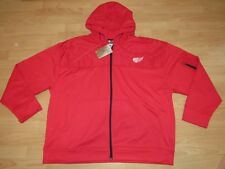 Detroit Red Wings Full Zipper Therma Hoodie Jacket size Men's 2XL