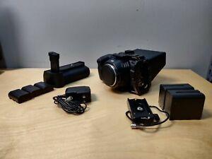 Blackmagic Design Pocket Cinema Camera 6K + Cage, Grip, Batts, More!