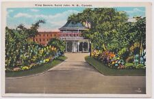 King Square St John NB Saint John New Brunswick Unused Postcard Canada Valentine