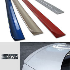 PAINTED BMW E36 2D COUPE REAR BOOT TRUNK LIP SPOILER 354 Titansilber Metallic