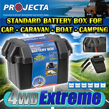 PROJECTA BB285 STANDARD BATTERY BOX AGM DEEP CYCLE BATTERY UP 2 80AH DUAL SYSTEM
