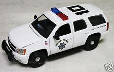 JADA 1/24 Highway Patrol Chevy Tahoe Police SUV - White