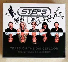 Steps Tears on The Dancefloor Singles Remix Collection 4 CD Set Band Signed RARE