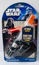 Star Wars Light Saber Lip Balm Carabinier Clip Darth Vader VINTAGE COLLECTIBLE