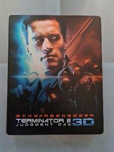 Terminator 2 steelbook : Jugment Day blu ray 2d version longue + 4K UHD VO