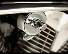 Show Chrome Fuel Shut Off Valve Cover #55-301 Honda VT750/VT1100/VTX1300/VT1300