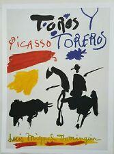Pablo Picasso Toros y Toreros Print by Ricordi Arti 2003