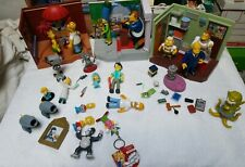 Lot Of 3 Homer Simpson's Interactive Play Sets With extras assortment