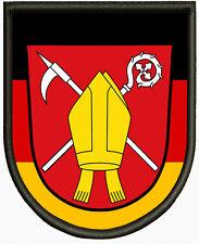 Wappen von Krün,Pin, Aufbügler