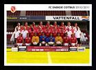 Original Mannschaftskarte Energie Cottbus 2010-11 TOP + A 89914 OU