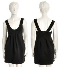 Plein Sud Jeanius Net-a-Porter Stretch Black Bodycon Empire Waist DARING Dress 8