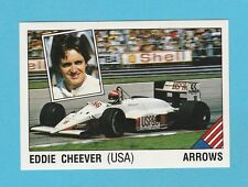 MOTOR RACING - PANINI - SUPERSPORT STICKER NO. 36 -  EDDIE  CHEEVER  - 1987