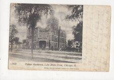 Palmer Residence Lake Shore Drive Chicago Usa 1904 U/B Postcard 477a