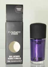 MAC Nail Lacquer Polish Midnight Strata 10ml/0.34 oz. NIB Guaranteed Authentic