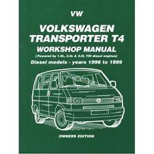 Volkswagen Transporter T4 Diesel Workshop Manual Owners Edition 1996-1999 paper