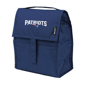 NEW ENGLAND PATRIOTS, INCREDIBLE FREEZABLE LUNCH BAG/TOTE FROM KOLDER/PACKIT