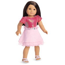 American Girl PINK RUFFLES OUTFIT New In Bag