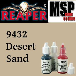 DESERT SAND 9432 - MSP 15ml 1/2oz paint pot peinture figurine REAPER MINIATURE