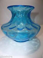 """Vintage Italian OPTIC Art Glass VASE 5"""""""