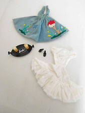 """Vintage 1960 Barbie Outfit Tagged Dress """"Friday Night Date"""" Complete"""