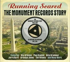 RUNNING SCARED THE MONUMENT RECORDS STORY 1958 - 1962 - 2 CD BOX SET