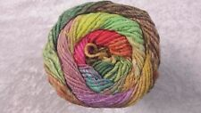 Noro Taiyo Colour #75 Yellow Lime Pink Purple 100g Cotton Silk & Wool