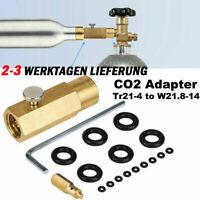 CO2 Adapter 425 g Wassersprudler f. Befüllung von Sodastream Soda Club Zuhause