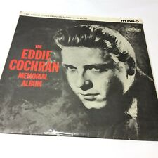 Eddie Cochran Memorial Album Liberty Records UK 1960 Vinyl LP 1N/1N Very Good!
