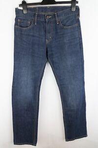Levi Strauss & Co 514 Men Jeans Blue Straight Fit Cotton size W30 L32
