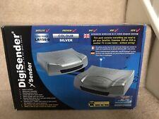 Digisender xSender Wireless SCART TV DVD Sender Receiver Transmitter UK.