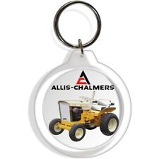 ALLIS CHALMERS B10 TRACTOR ENGINE KEY FOB RING KEYCHAIN IGNITION STARTER