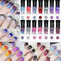 Thermal Colour Changing Nail Art Polish Temperature Peel Off Nails Varnish 6ml
