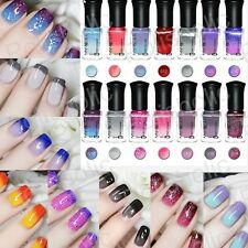 Thermal Colour Changing Nail Polish Temperature Peel Off Varnish Manicure 6ml