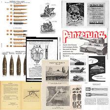 GERMANIA WWII RACCOLTA 3 MANUALI MILITARI STORICI IN PDF scavo fascio inerti