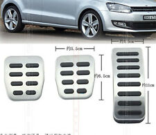 FIT FOR VW POLO 6R SKODA FABIA 00-13 FOOT COVER PEDAL PAD CLUTCH BRAKE REST SET