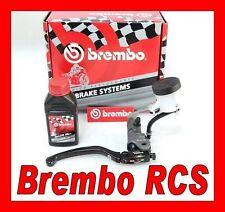KIT POMPA FRENO BREMBO RADIALE RCS 19 COMPLETA OLIO-STAFFA ERGAL SERBATOIO-TUBO