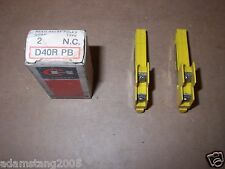 NEW CUTLER HAMMER D40RPB REED RELAY POLE-N.C. BOX OF 2