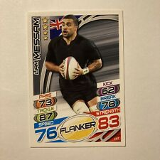 Topps Rugby Attax Card 2015 #107 Liam Messam New Zealand Flanker All Blacks