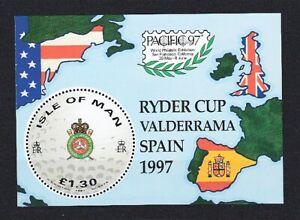 Insel Man  Block 29  Ryder Cup  Golf  **  (mnh)