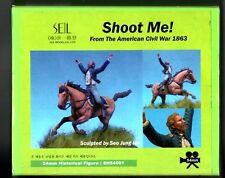 SEIL MODEL SH54001 - SHOOT ME! AMERICAN CIVIL WAR - 54mm WHITE METAL KIT NUOVO