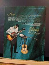 Vintage1964-65 Gibson Guitar catalog-Folk Instruments