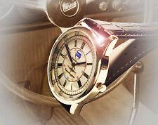 Lancia Flaminia Superleggera Souvenir Wrist Watch, Retro 1960's Vintage Dial