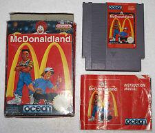 Mc DONALDLAND MCDONALDLAND sur Nintendo NES