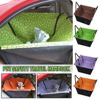 Portable Dog Car Seat Belt Booster Travel Carrier Folding Bag for Pet Cat