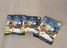 LEGO 71020 Minifiguren Serie The Lego Batman Movie Series 2 - 3 x Tüten NEU