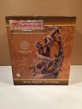 Graphitti Designs Tarzan Cold-cast Statue Burne Hogarth MIB complete #111/500