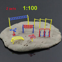 GY10100 2sets Fitness Gym Equipment Model Chinese Construction Educational 1:100