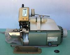W&G 504-V71 Serger 1-Needle 3-Thread Cylinder Bed Industrial Sewing Machine